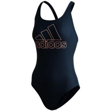 adidas BadeanzügeATHLY V LOGO BADEANZUG - FS3939 schwarz
