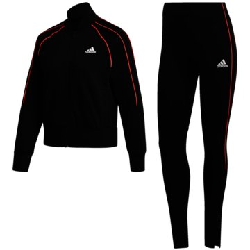 adidas TrainingsanzügeBOMBER JACKET AND TIGHTS TRAININGSANZUG - FS6176 schwarz