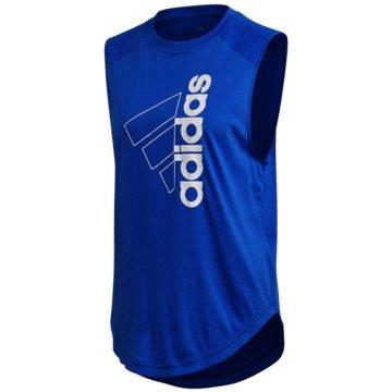 adidas TopsW MH GR TANK - FT8506 blau