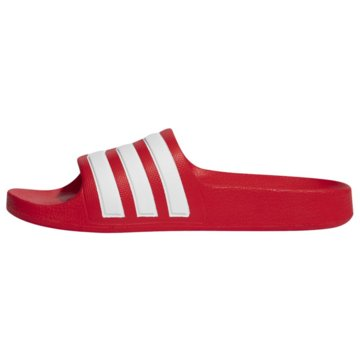 adidas Pantolette4064039638296 - FY8066 rot