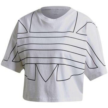 adidas T-ShirtsLRG LOGO TEE - GD2358 weiß