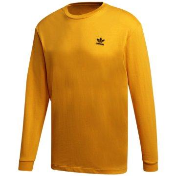 adidas Langarmshirt gold