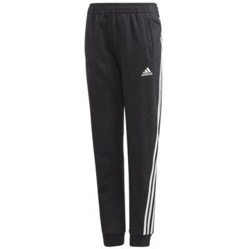 adidas 3/4 Sporthosen3-STREIFEN TAPERED LEG HOSE - GE0947 schwarz
