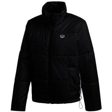 adidas Originals ÜbergangsjackenSHORT PUFFER - GK8554 schwarz