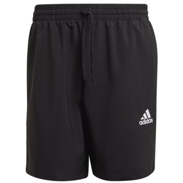 adidas kurze SporthosenAEROREADY ESSENTIALS CHELSEA SMALL LOGO SHORTS - GK9602 schwarz