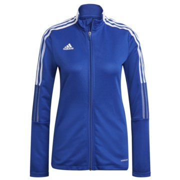 adidas FleecejackenTIRO 21 TRAININGSJACKE - GM7304 blau