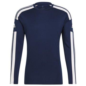 adidas FußballtrikotsSQUADRA 21 LONGSLEEVE - GN5790 blau