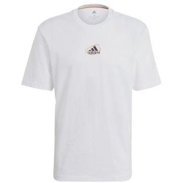 adidas T-ShirtsATHLETICS GRAPHIC T-SHIRT - GN6860 weiß