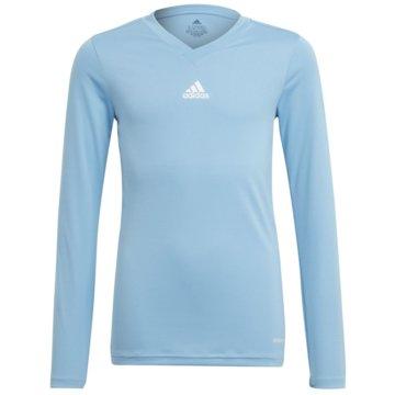 adidas FußballtrikotsTEAM BASE LONGSLEEVE - GN7512 blau