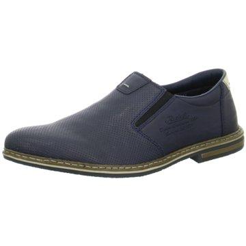 Rieker Klassischer Slipper1456515 blau