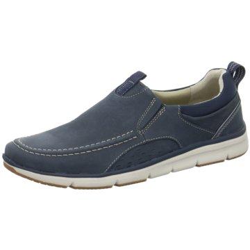 Clarks Sportlicher SlipperOrson Row blau