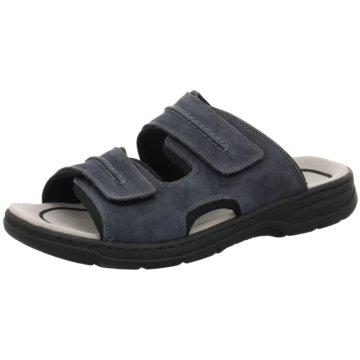 Rieker Komfort Sandale blau