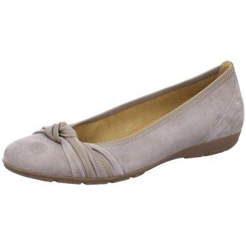 Gabor Klassischer Ballerina beige