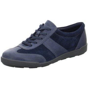 Ecco Sportlicher SchnürschuhCrisp 2 blau
