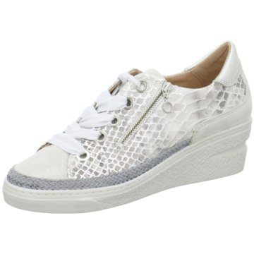 Softwaves Sneaker Wedges grau