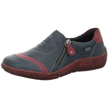 Remonte Komfort SlipperSneaker blau