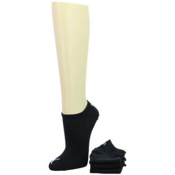 Puma SockenSneaker Plain 3P schwarz
