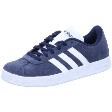 adidas Sneaker LowVL COURT 2.0 K - DB1828 blau