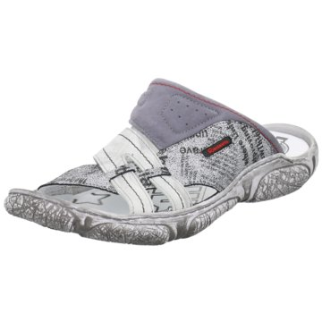 KRISBUT Komfort Sandale grau
