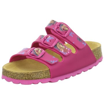Biofit Offene Schuhe pink