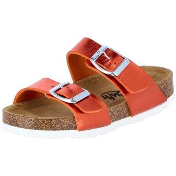 Biofit Offene Schuhe orange
