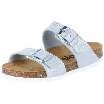 Biofit Offene Schuhe silber