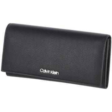 Calvin Klein Geldbörsen & Etuis schwarz