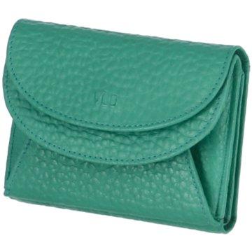 Voi Leather Design Geldbörsen & EtuisWienerschachtel grün