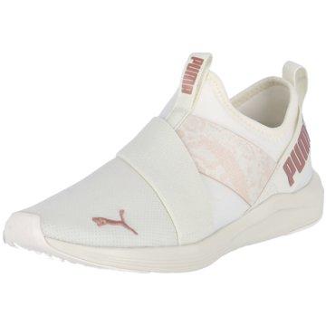 Puma Sportlicher Slipper weiß
