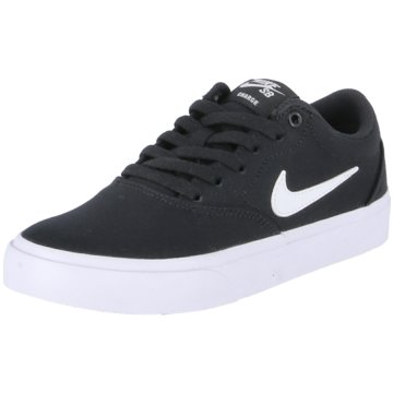 Nike Sneaker LowNike SB Charge Canvas Big Kids' Skate Shoe - CQ0260-004 schwarz
