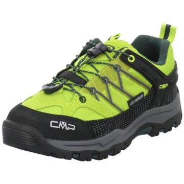 CMP Wander- & BergschuhKIDS RIGEL LOW TREKKING SHOE KIDS W - 3Q54554J grün