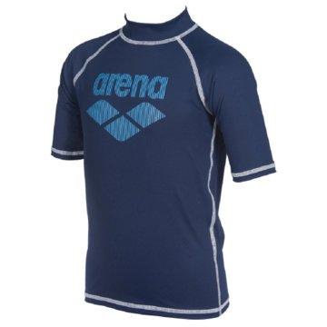 arena T-ShirtsB RASH VEST S/S - 003145 blau