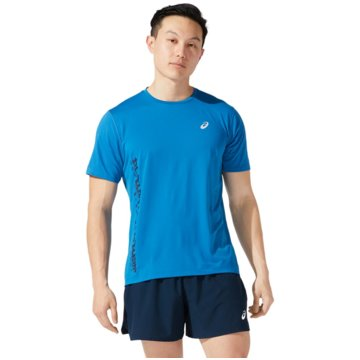 asics T-ShirtsSMSB RUN SS TOP - 2011B872-401 blau