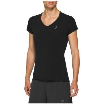 asics T-ShirtsV-NECK SS TOP - 2012A981 schwarz