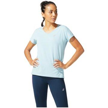 asics T-ShirtsV-NECK SS TOP - 2012A981-403 blau