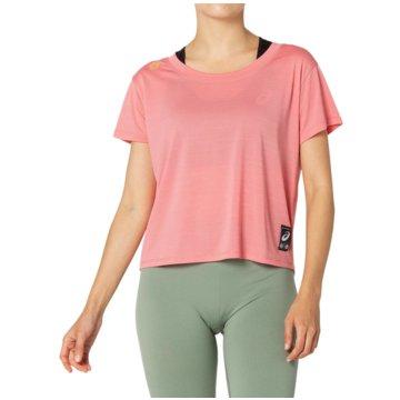 asics T-ShirtsSAKURA SS CROP TOP - 2012B945-701 rosa