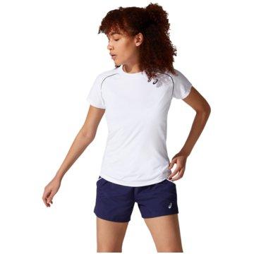 asics T-ShirtsCOURT W PIPING SS - 2042A157-100 weiß