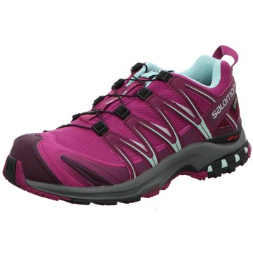 Salomon Trailrunning lila