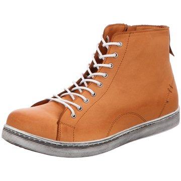 Andrea Conti Sneaker High braun