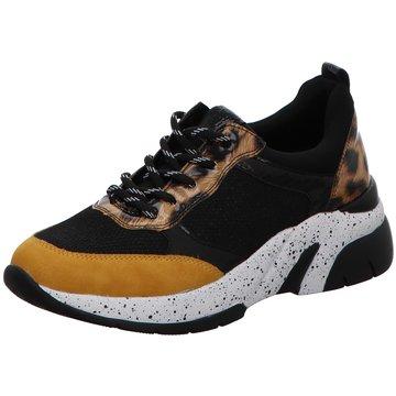 Remonte Plateau Sneaker schwarz