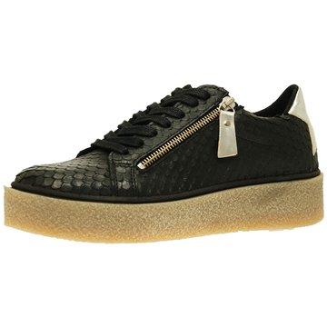SPM Shoes & Boots Plateau Sneaker schwarz