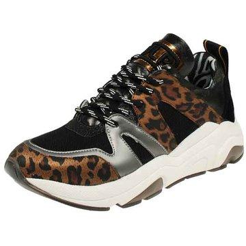 Meline Plateau Sneaker schwarz
