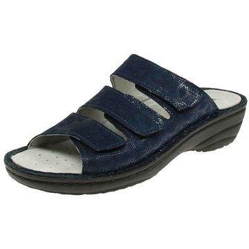 Rohde Komfort Pantolette blau