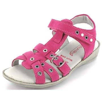 Däumling Offene Schuhe pink