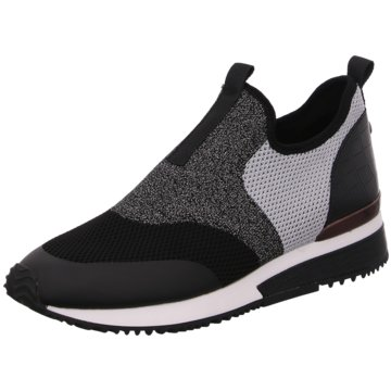 La Strada Sportlicher SlipperSneaker schwarz
