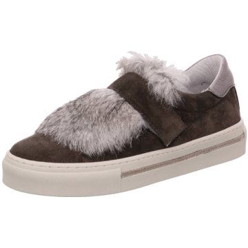 Alpe Woman Shoes Plateau SlipperIlena grau
