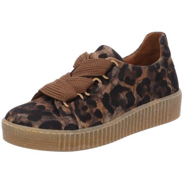 Gabor Top Trends Schnürschuhe animal