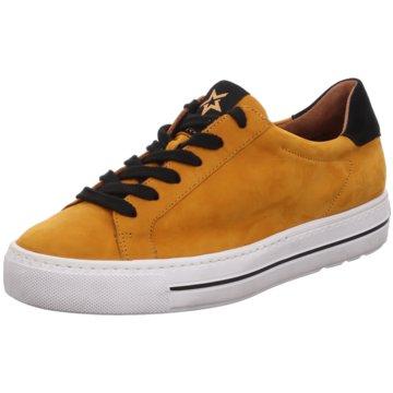 Paul Green Plateau Sneaker orange