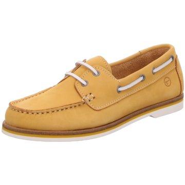 Tamaris Bootsschuh gelb