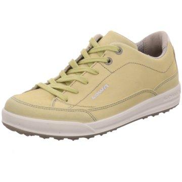 LOWA Sportlicher SchnürschuhSneaker beige